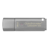 金士頓 KINGSTON DTLPG3 Locker+ 8G鐵灰色 ( DTLPG3/8GB )