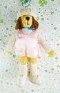 【震撼精品百貨】日本精品百貨~絨毛玩偶-人形熊-女生-粉色
