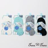 【Tiara Tiara】簡筆畫海豹隱形涼感襪(白/藍綠/灰/黑)