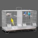 分隔相通組合鸚鵡群鳥 籠子別墅 豪華繁殖籠鳥籠虎皮牡丹