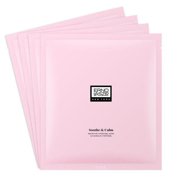 ERNO LASZLO 奧倫納素 植萃舒緩 超肌潤玫瑰果凍面膜 1set , 4pcs