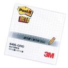 "3M 白640S-GRID 4""X4""方格狠黏便條紙"