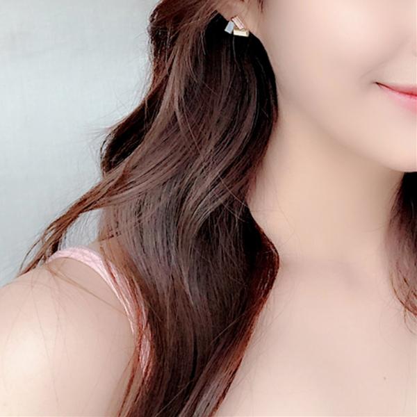 現貨 韓國氣質甜美糖果色簡約幾何三角型925銀針耳環 夾式耳環 S93313 批發價 Danica 韓系飾品