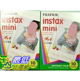 FUJIFILM mini7S 25 50S instax mini 相紙 相片紙 含20張底片_T01