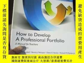 二手書博民逛書店How罕見to Develop A Professional P