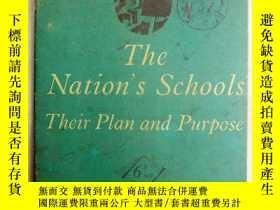 二手書博民逛書店THE罕見NATION`S SCHOOLS THEIR PLAN