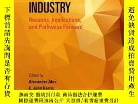 二手書博民逛書店Attrition罕見in the Pharmaceutical Industry: Reasons, Impli