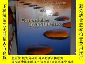 二手書博民逛書店Essentials罕見of Investments eight
