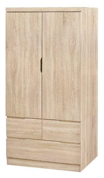 【新北大】✪ U52-36 凱薩原切橡木3X6尺衣櫥-18購