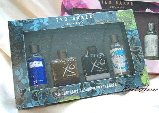 *禎的家* 英國時尚名牌 Ted Baker 限量小香水禮盒組~魅力男士款 & 女士款~出清5折專區