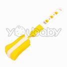 黃色小鴨 組合式奶瓶刷 /海綿奶瓶刷-可更換刷頭(台灣製) PiYO PiYO