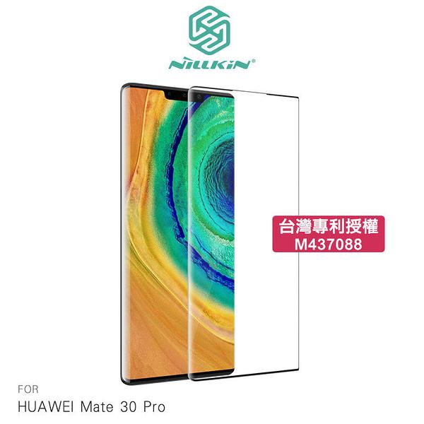 【愛瘋潮】NILLKIN HUAWEI Mate 30 Pro 3D CP+ MAX 滿版玻璃貼  防爆鋼化玻璃