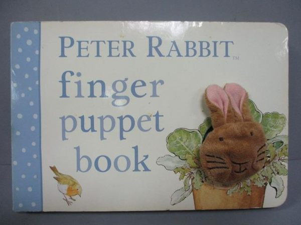 【書寶二手書T9/少年童書_IPW】Peter Rabbit Finger Puppet Book_Potter, Be