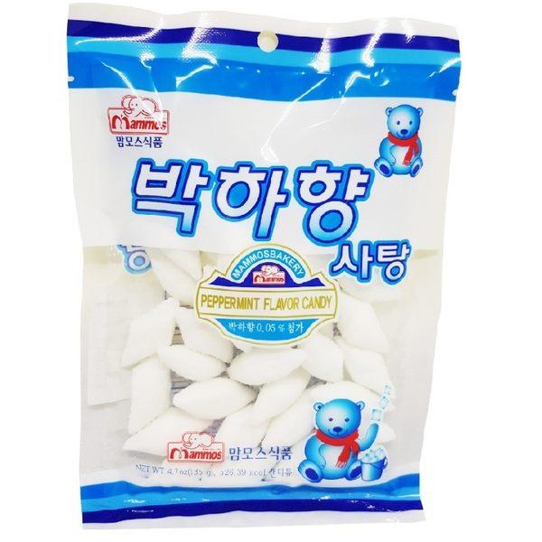 韓國傳統菱形薄荷糖/120g(包)