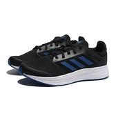 ADIDAS 慢跑鞋 GALAXY 5 黑 深藍線 網布 運動 休閒 男(布魯克林) FW5706