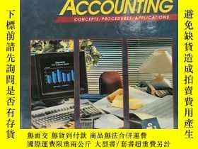 二手書博民逛書店Glencoe罕見Accounting: Concepts Procedures Applications, St