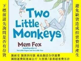 二手書博民逛書店Two罕見Little MonkeysY362136 None Mem Fox Mem ... Beach L