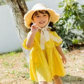 女童連衣裙2018新款潮1夏裝女寶寶洋氣裙子2小童裝夏季公主裙3歲禮物限時八九折