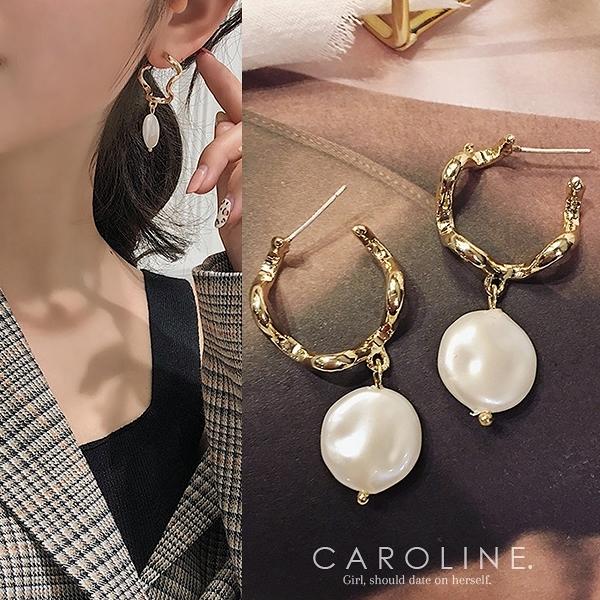 《Caroline》★韓國熱賣造型時尚 高雅大方設計耳環70472