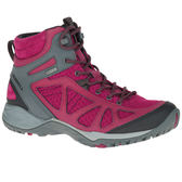 MERRELL 女款 SIREN SPORT Q2 MID GORE-TEX 多功能登山防水鞋 高筒 - 莓紅X灰 ML37780