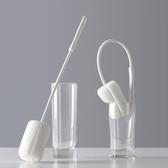 玻璃杯清潔刷長柄刷杯刷茶杯刷子廚房洗杯子保溫杯海綿刷