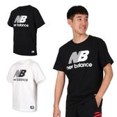 NEW BALANCE 男短袖T恤(純棉 慢跑 路跑 短T 免運 ≡排汗專家≡