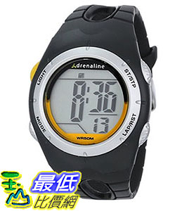 [106美國直購] Freestyle 手錶 Unisex AD50673 B005ZRMQ4G Adrenaline Round Digital Black Big Digit Watch