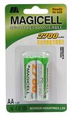 低自放鎳氫充電電池3號(2入)