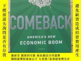 二手書博民逛書店COMEBACK:American s罕見new Economi
