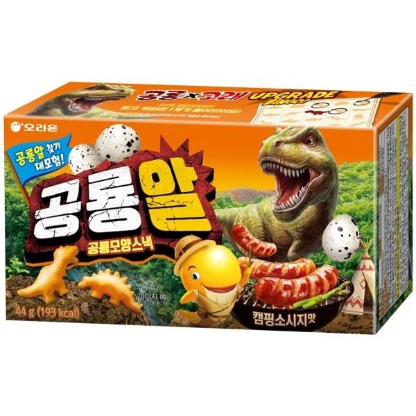 韓國 好麗友 恐龍造型餅乾(44g)【小三美日】