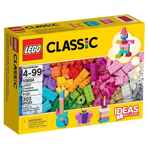 樂高積木LEGO Classic經典系列 10694 樂高創意桶亮彩版