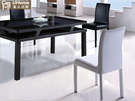 餐椅【UHO】 優雅姿態餐椅(黑、白二色) 免運費 HO18-763-1-2