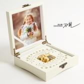 原創音樂兒童乳牙盒紀念盒寶寶牙齒收納盒乳牙收藏盒紀念品 雙12
