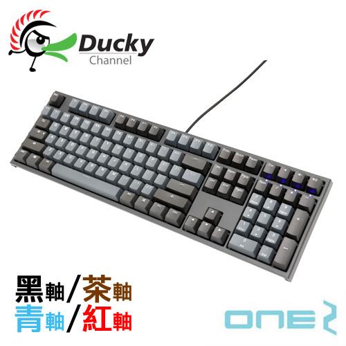 Ducky 創傑 Skyline天際線 ONE 2 PBT 紅軸 茶軸 青軸 黑軸 中文 機械式鍵盤