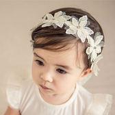 髮帶 韓版 寶寶 公主 花花 蝴蝶結 嬰兒 髮帶