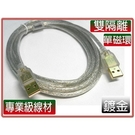 i-wiz USB2.0 A公-A公鍍金...
