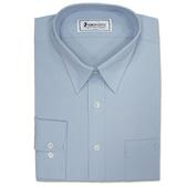BRONZINI UNICORN襯衫-優雅型(PARIS)-淺藍色-彈性緹花-6496512-545
