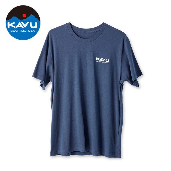 西雅圖 KAVU Paddle Out 棉質 T-Shirt 和平 #8040