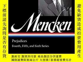 二手書博民逛書店H.罕見L. Mencken: Prejudices Vol.