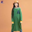【秋冬降價款】American Bluedeer - 字母休閒針織洋裝(魅力價) 秋冬新款