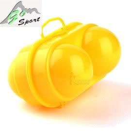 丹大戶外【Go Sport】防撞防爆裂蛋盒2粒裝/保護雞蛋盒/雞蛋收納盒/預防易碎物碰撞 50303