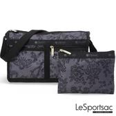 LeSportsac - Standard雙口袋斜背包-附化妝包(法式宮廷) 7519P F754