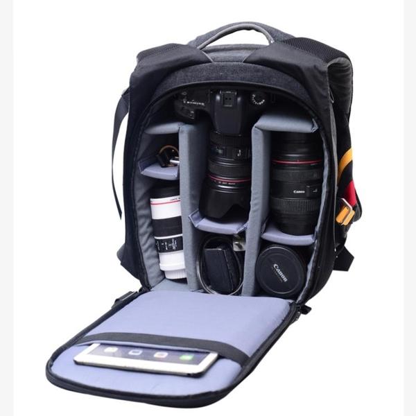 佳能相機包雙肩女旅行背包單眼戶外攝影包男800D80D5D25d3 6d 5D4  遇見生活