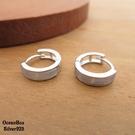 §海洋盒子§優雅質感白貝殼針式易扣925純銀耳環 (外鍍專櫃級正白k)