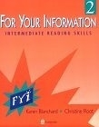 二手書博民逛書店《For Your Information 2: Interme