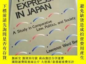 二手書博民逛書店FREEDOM罕見OF EXPRESSION IN JAPANY