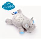 美國cloud b 聲光音樂夜燈/安撫睡眠玩具/夜燈-河馬CLB7472-HP