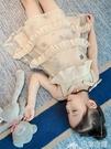 女童夏裝2019新款夏季中大童裝小女孩公主裙子兒童韓版洋氣連身裙 巴黎衣櫃