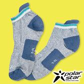 PolarStar 長效抗菌排汗運動襪『灰藍』P18511 露營.戶外.登山.排汗襪.彈性襪.紳士襪.休閒襪.短襪.