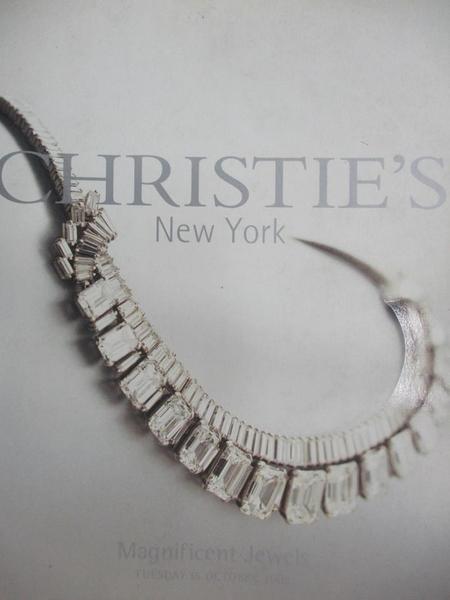 【書寶二手書T1/收藏_ZHU】Christie s_Magnificent Jewels_2002/10/15